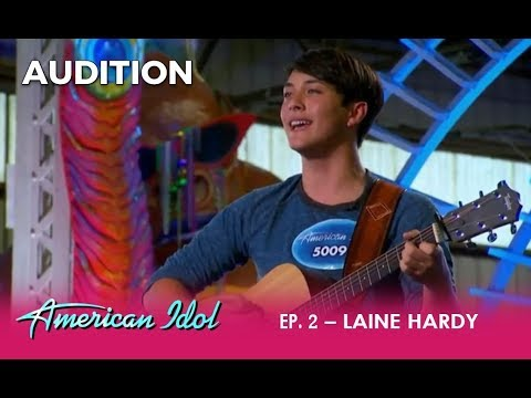 Laine Hardy: A Young Country Singer That Will CAPTURE Your Heart | American Idol 2018