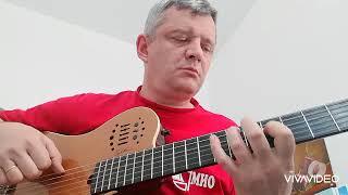 Капитан, улыбнитесь (guitar cover) видео