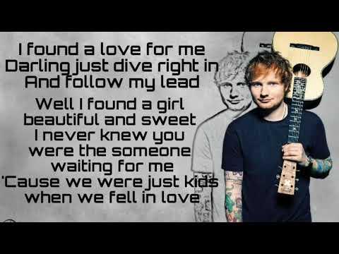 Perfect- Ed Sheeran [lyrics]