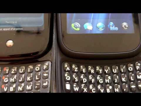Déballage HP Pre3 et comparatif Palm pre