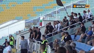 Реакциите на феновете на Славия и Дунав при изпуснатата дузпа за гостите