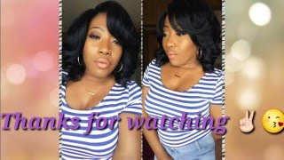 Zury Sis Synthetic A-Line Lace Wig Mika