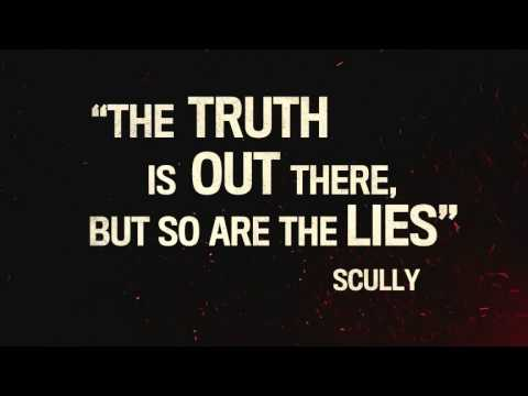 El Rey Network -...X Files The Truth Is Out There Wallpaper