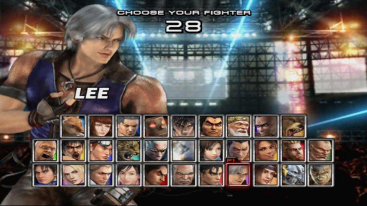 Tekken 5 Lee Playthrough Ps2 Youtube