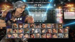 Tekken 5 - Lee Playthrough (PS2)