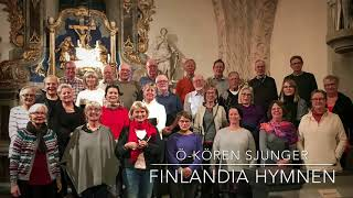 Ö-kören sjunger Finlandiahymnen - Finland 100 år