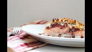 RECIPE: Cranberry Pecan Crusted Salmon