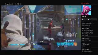LIVE FORTNITE BATTLE ROYALE WITH MODE CREATIF BILALISLAM ARE GENIS