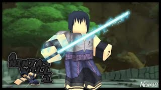 SASUKE UCHIHA AND CURSE MARK / NEW NARUTO GAME!! | Roblox: A Ninja's Will 2