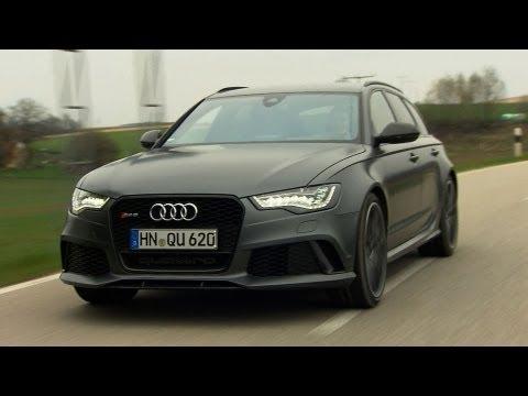 NEU: Audi RS 6 Avant - Testfahrt