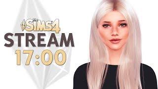 Уютный СТРИМ | CAS + СТРОЙКА | The Sims 4