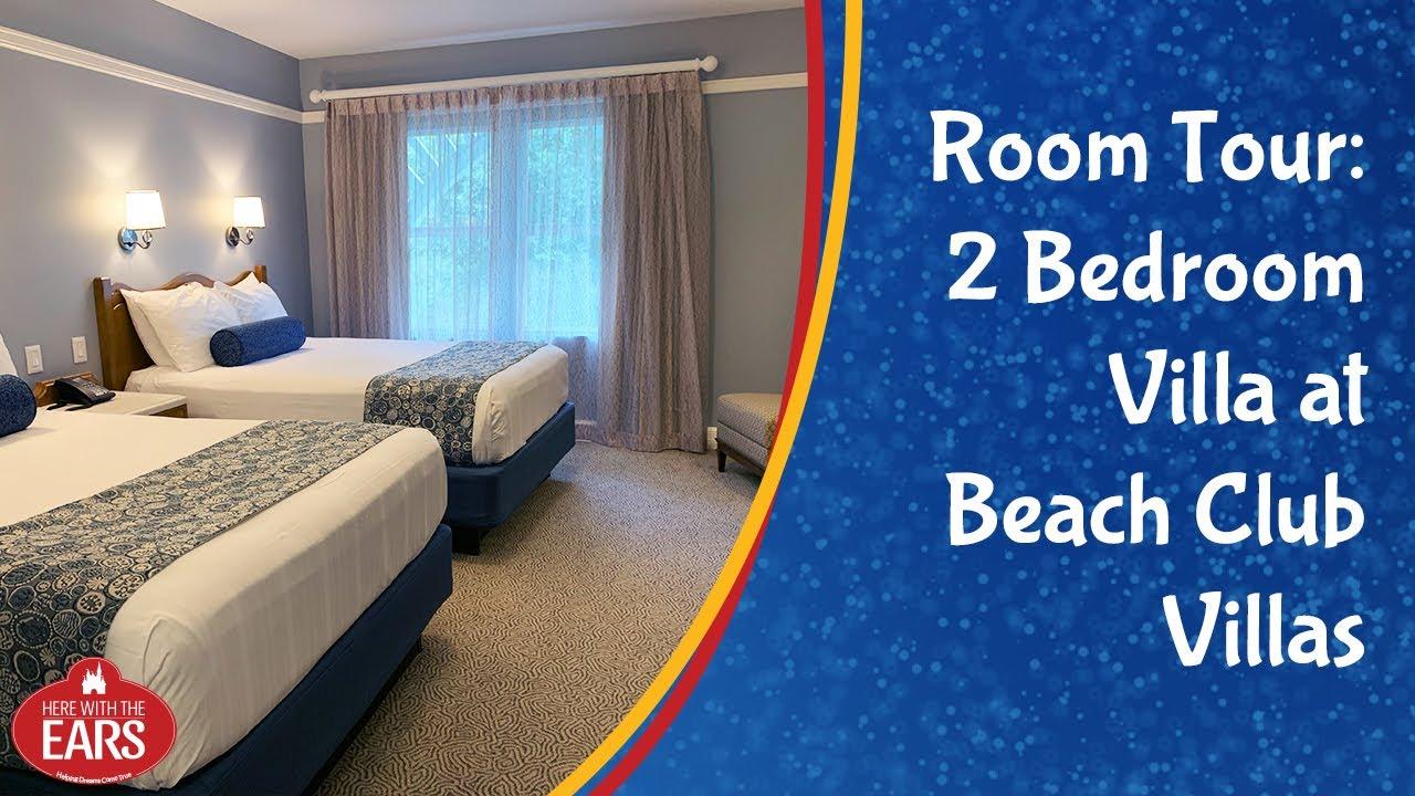 Beach Club Villas Two Bedroom Villa Room Tour Youtube
