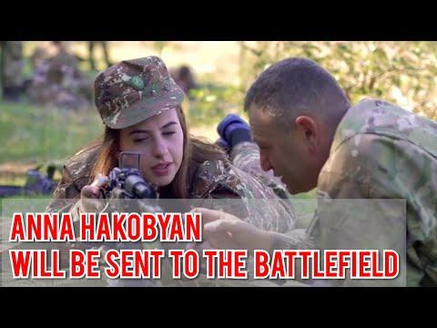 Anna Hakobyan - Wife Nikol Pashinyan Military Exercises to fight Azerbaijan