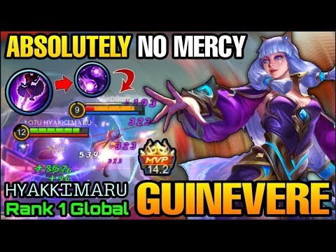 Absolutely No Mercy Combo Guinevere NonStop Gank - Top 1 Global Guinevere HYᎪKKᏆᎷᎪᎡU - MLBB