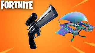 Fortnite New Scoped Revolver + Itemized Glider Redeploy Update Live! (Fortnite New Update)