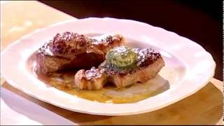 Marco Pierre White recipe for Steak with flavoured butters