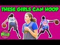 GIRLS BREAKING ANKLES - Middle School Girls with CRAZY HANDLE