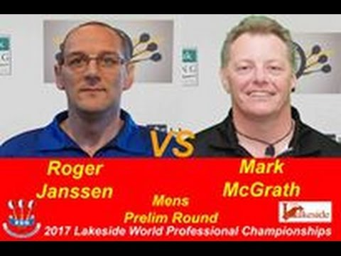 2017 BDO World Darts Championship Preliminary Round Janssen vs McGrath