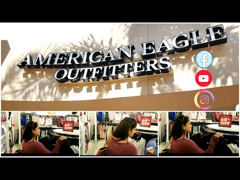 American Eagle Outfitters Store Walk Through | Shop With Me
