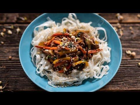 Azjatycki Makaron Z Wołowiną - Do Lunchboxa! | Przepis UMAMI