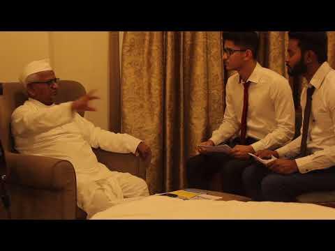 STUDIO PRESS Mulakat- Interview With Anna Hazare || ANNA ने साधा MODI पर निशाना ||
