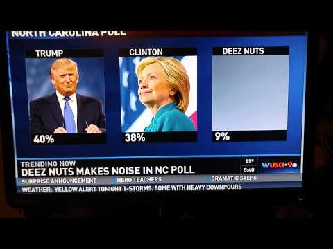 Deez Nuts for President 2016 😂😂😂
