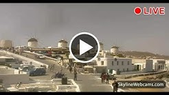 Live Webcam from Mykonos - Greece