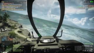 Battlefield 4 [PC] Flawless 52-0 Pro Jet Gameplay on Nansha Strike (Naval Strike DLC)