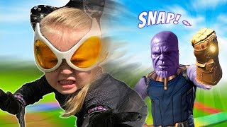 The Super Hero GEAR GAME! (Super-Villains Edition 2) | KIDCITY