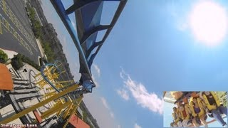 Goliath (On-Ride) Six Flags Fiesta Texas