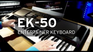 KORG EK-50 Entertainer Keyboard: All Playing, No Talking! Official Video.