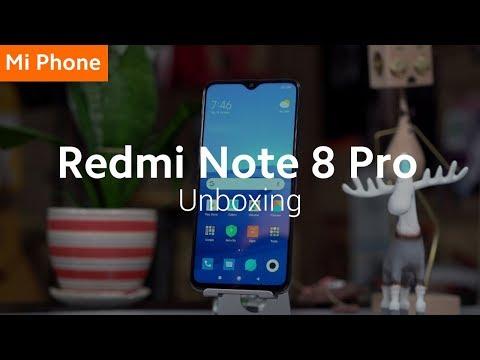 Redmi Note 8 Pro: Unboxing