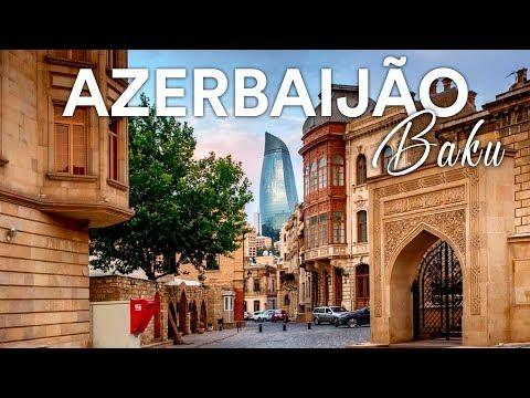 AZERBAIJÃO! Tour pelo centro antigo de Baku l Ep.1