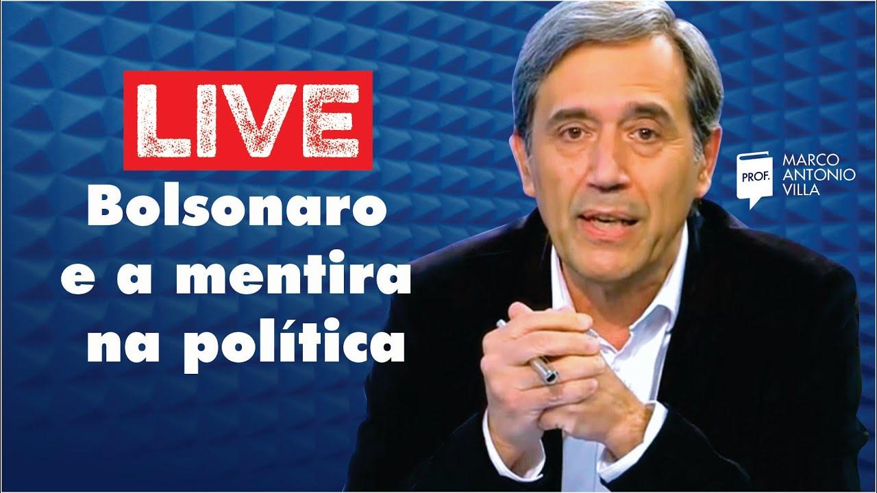Live: Bolsonaro e a mentira na política 10/08/20