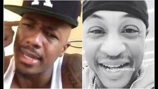 Nick Cannon Responds To Orlando Brown Saying He Gave Him Oral
