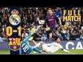 FULL MATCH: Real Madrid 0 - 1 Barça (2019) Blaugranas wrap up Clásico double!