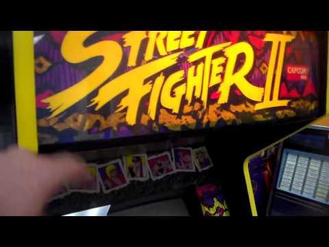 Street Fighter II : the World Warrior Arcade Game !  Gameplay, Artwork, Cabinet Video