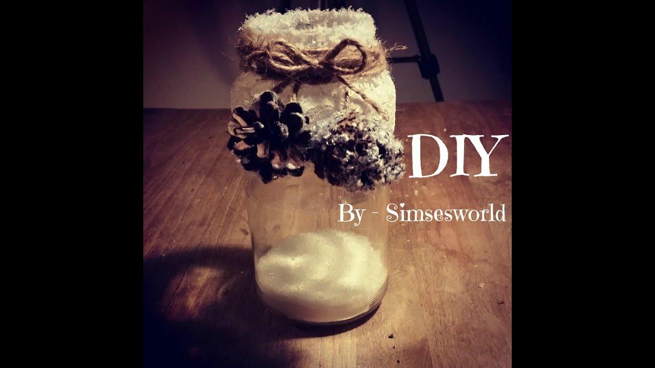 Julekalender 13 december - Smuk lygte af genbrugs glas