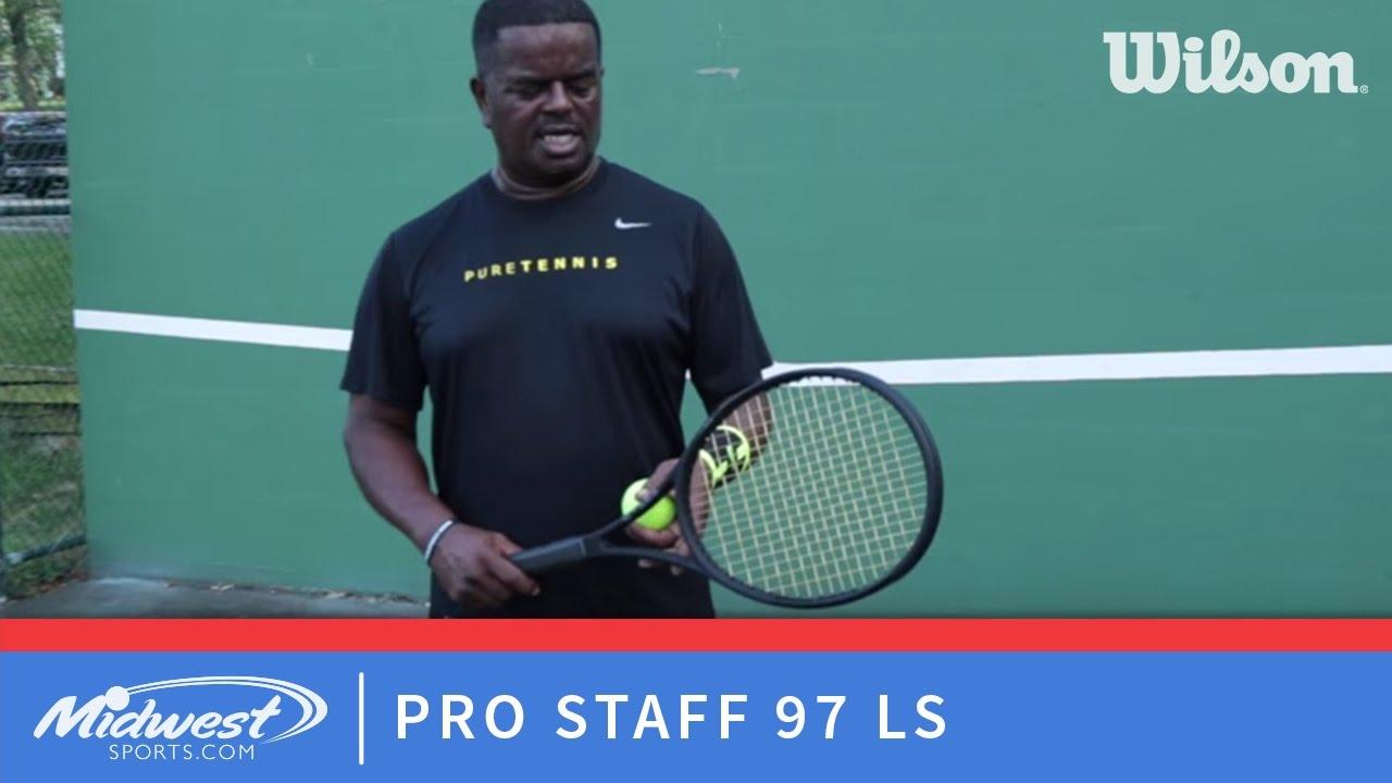 d5d30c6d1 Wilson Pro Staff 97 LS Playtest - YouTube
