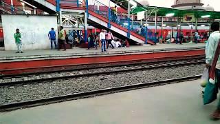 Patna jhajha fast passanger crossing rajendra nagar terminal |indian railway&tourism
