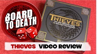 Thieves Board Game Video Review