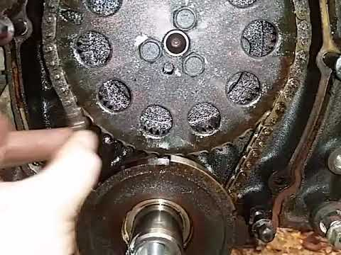 Gm 4 3 V6 Loose Timing Chain Youtube