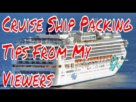 Cruise Ship Vacation Packing Tips My Viewers Share Their Bes