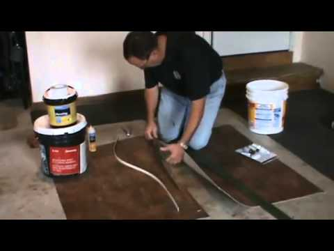 Vinyl floor tile seam sealer carpet review for How to seal vinyl flooring seams