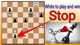 أوقف ذلك البيدق موقف شطرنج أعجبني