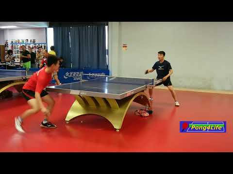 Tian Ye (2607) vs Liu Dong (2084) at 2018 Swan Warriors Open - Men's Singles RR