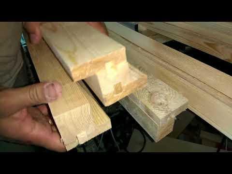видео: Окно . Простой деревянный профиль и стеклопакет.