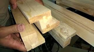 Окно . Простой деревянный профиль и стеклопакет.
