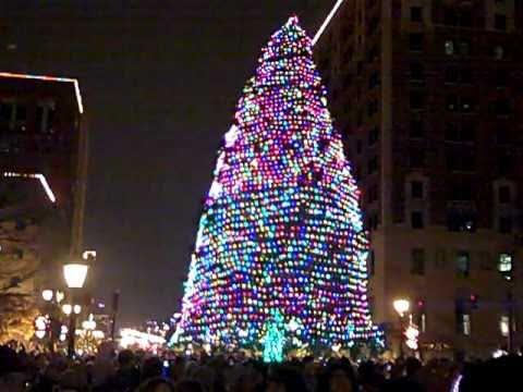 Michigan State Tree Lighting- Lansing, Michigan- November 19, 2010 - Michigan State Tree Lighting- Lansing, Michigan- November 19, 2010