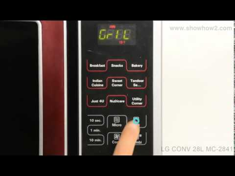Lg Mc 2841sps Convection Microwave Oven How To Set Up Grill Cooking